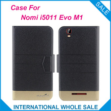 5 Colors Hot! Nomi i5011 Evo M1 Case,High quality Full Flip Fashion Customize Leather Case For Nomi i5011 Evo M1