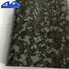Military Green Digital Camouflage Vinyl Car Wrap Camo Vinyl Roll Film Decal Stickers for Scooter Motorcycle DIY Decorate