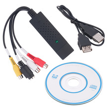 USB 2.0 Video Capture Card Converter PC Adapter TV Audio DVD DVR VHS For Window 2000 For XP For Vista For Win 7(China)