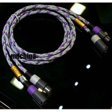Hi Fi audio cable XLO Signature S3 Singled-Ended XLR audio interconnect Cable pair 1.5M Express shipped