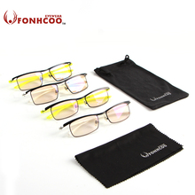 2017 FONHCOO Anti Blue ray Radiation protection  Computer mirror office Eyeglasses Frame anti-fatigue goggles gaming glasses