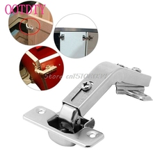 135 Degree Corner Folded Silver Cabinet Door Hinges Bathroom Kitchen Cupboard #S018Y# High Quality(China)