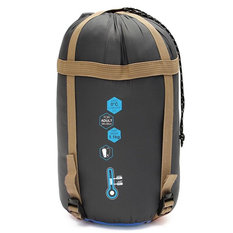 HOT Naturehike NH Ultra Light Travel Outdoor Sleeping Bag Camping Hiking Blue Orange<br><br>Aliexpress