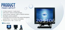 LILLIPUT FA801-NP/C/T 8 inch Touch screen Monitor VGA AV1 AV2 desktop TFT LCD PC Monitor(China)