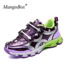 New 2017 New Trend Children Girl Shoes Summer Sneakers Kids Brand Leather Kids Trainers Wearable Childrens Sport Shoes