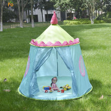 "MrPomelo Soft Foldable Tent for Indoor / Outdoor Fun 48"" x 49"" Children's House Play Tents Super Duper Kids Dome PlayHouse Toys"