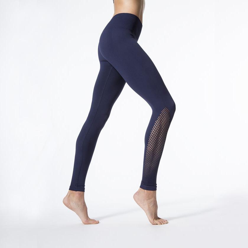 New Women Push-up Sporting Leggings Black Fashion Net Hollow Elastic Skinny Fitness Leggings Sporting Clothing For Women 18
