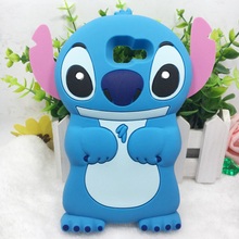 3D Cute Stitch Case For iPhone 5 C 5s SE 6 6s 7 Plus For Samsung Galaxy S8 S6 S5 S4 S3 Cute Soft Silicone Phone Cover