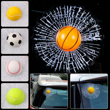 Universal Car Auto SUV Truck Pick-up Creative Funny 3D Hit Window Sticker Windshield Glass Surface Decoration