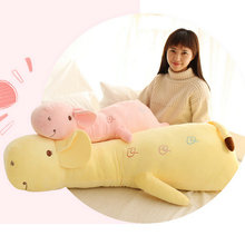 wholesale baby sleep cushion deer plush toys stuffed plush animals Children's gift 60-110cm Large size toy on the bed pillow(China)