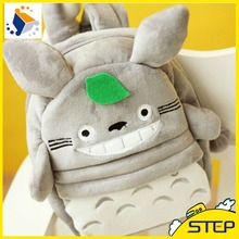 New Lovely Totoro Plush Backpacks Small School Bags for Kids Backpakcs High Quality Free Shipping ST020