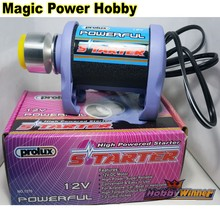 100% Original Prolux 12V High Powered Starter 60-120A PX1270 PX1275 PX1276 For RC Airpalne Car Boat Model Helicopter