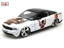 Maisto 1:24 Harley 2011 Ford Mustang GT Diecast Car Model Toy New In Box Free Shipping