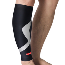 Kuangmi Compressport Calf Compression Sleeve Support Sports Leg Warmers Cycling Running Football Sock Protector Shin Guard 1 PC