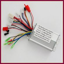 6mosfet 17A 36V/48V 350W  Sensor/Sensorless Brushless DC Motor Controller for Electric bicycle scooter
