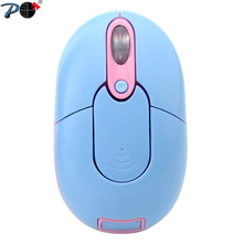 P Factory Price New Design 2.4G Wireless Button Mini Optical Colorful Mouse Mice with USB Receiver For PC Laptop Desktop TV box(China)