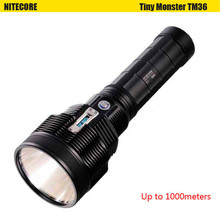 Nitecore TM36 1100M 8 Modes SBT- 70 LED light Display Rechargeable LED Flashlight NBP52 battery pack torch+O-ring+adapter