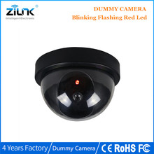 Fake Camera Dome Simulation Dummy Camera With Flash Blinking LED Security CCTV Dome Camera Surveillance(China)
