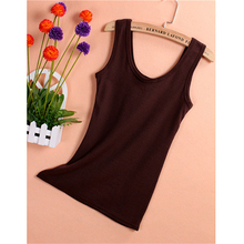 2017 Solid Cotton U neck Women Tank Tops Summer Women Casual Shirts Sleeveless Vest Tops & Camis 15 Colors -Y107