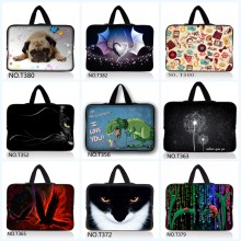 Hot Sell 9.7 10 12 13 15 17 laptop bag tablet sleeve case with handle PC handbag 13.3 15.6 11 14 computer notebook cover pouch