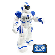 Kids Toys Multifunctional Remote Control Robot Singing Dancing Robot With Music Light RC Toys Action Figures Gift For Boys Girls(China)