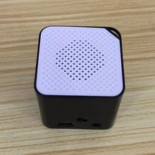 2017 New Fashion Portable Mini MP3 Music Player Support 16G SD TF Card Speaker Campaign MP3 Music Player Built-in Speaker