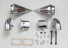 Motorcycle Chrome Air Cleaner Filter Kit Spike Intake For Suzuki Boulevard M109 [MP19]