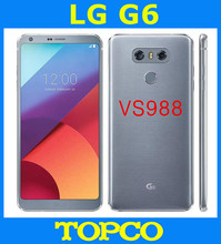 "LG G6 VS988 Verizon Original Unlocked GSM LTE Android Quad Core RAM 4GB ROM 32GB 5.7"" Dual 13MP Mobile Phone Dropshipping(China)"