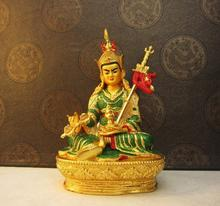 Tibetan Buddhism, Padmasambhava, painting the Lotus-born, statue of Buddha, figure, ornaments~