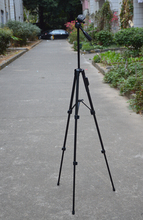 VCT-5208 Mobile phone tripod Camera tripod The bluetooth shutter for phone iso and Android 4.3 or newer mobile phones