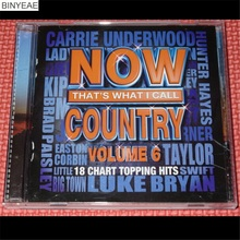 BINYEAE- new seal: NOW THAT'S WHAT I CALL COUNTRY VOLUME 6 music selection CD light disk [free shipping](China)