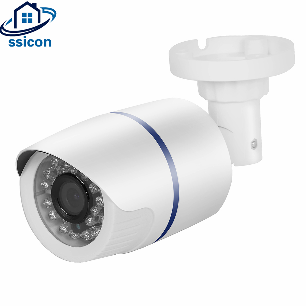 SSICON P2P Onvif Mini Cam Security Bullet 2.0MP HD 1080P IP Video Camera XMEYE Cloud<br>