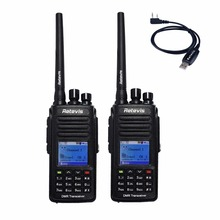 2PCS Retevis RT8 IP67 Waterproof DMR Radio Walkie Talkie 5W VHF 136-174Mhz 1000 CH Digital/Analog Mode Hf Transceiver A9115A