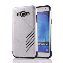 Case For Samsung Galaxy J5 Rhombus Combo Case For Samsung J5 SM-J500FN J500F J500G J500Y J500M J5007 J500H TPU+PU Cases