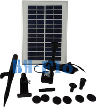 18V 20W Solar Pump System / Solar Water Pump with 800L/H Max Flow for Outdoor Fountain Wholesale Dropshipping(China)