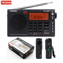 Desheng PL450 Receiver Tecsun pl-450 FM radio Stereo LW MV SW-SSB AIR PLL SYNTHESIZED PL450 secondary variable frequency radio