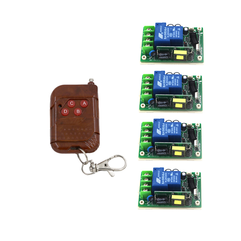 80v-250v 110v rf remote control outlet switch momentary wireless remote switch home light switch remote control 4018<br>