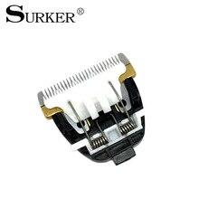 SURKER RFC-688B Машинки Для Стрижки Волос Лезвие Покрытием Титан Керамическая Головка Для Укладки Волос Аксессуары(China)
