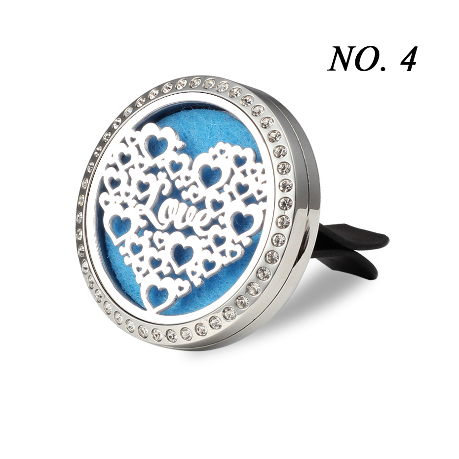 Car Air Freshener Auto outlet Perfume Vent Air freshener in the Car Air Conditioning Clip Magnet Diffuser Solid Perfume- 257