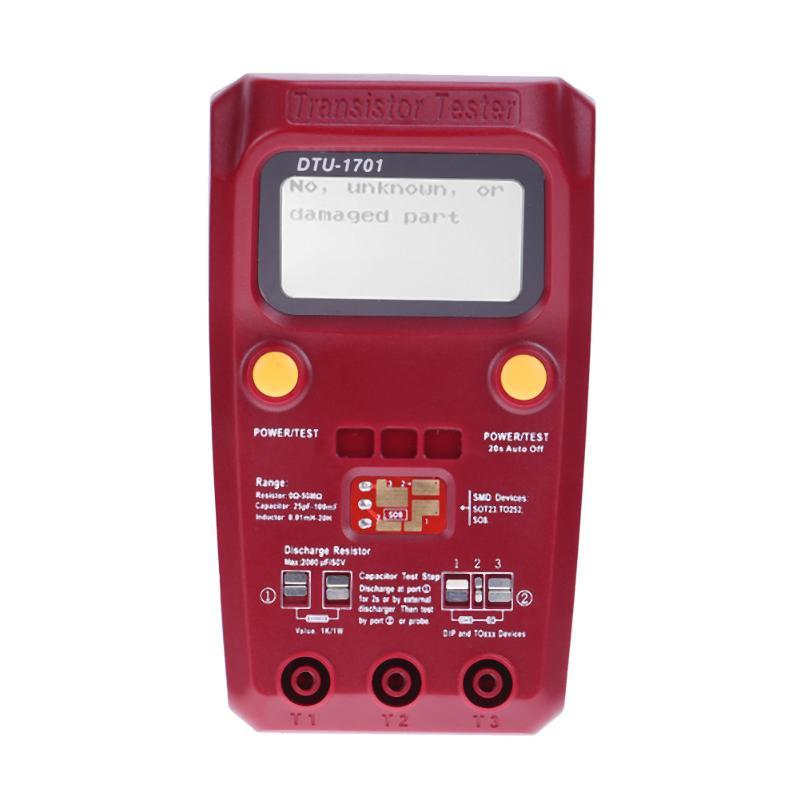 Professional Digital Transistor Tester Diode Capacitance Resistance Multimeter Chip Component Inductance Meter<br>