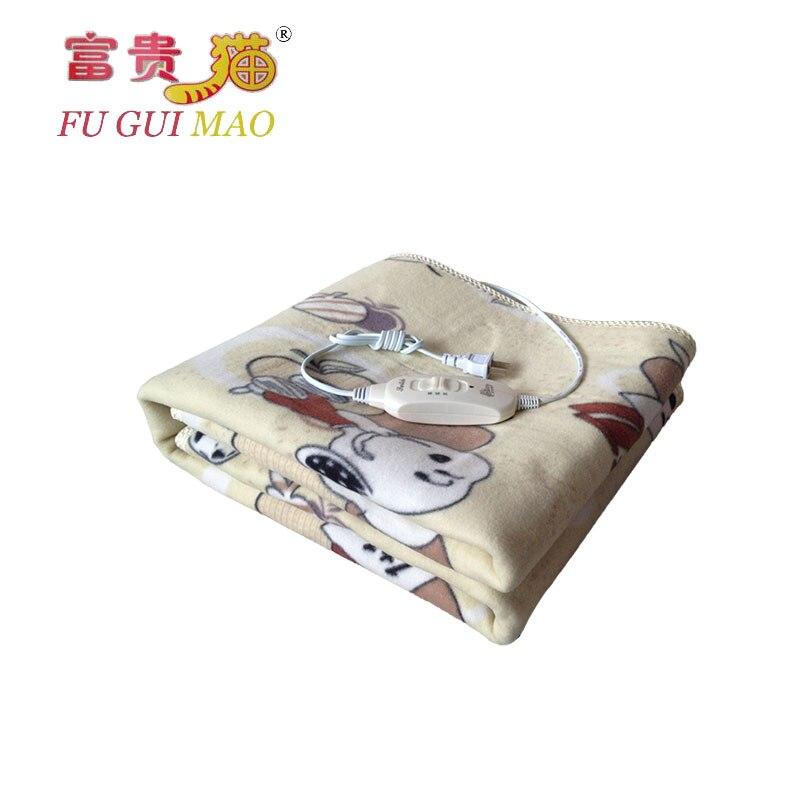 FUGUIMAO Electric Blanket Plush Manta Electrica 150x70cm Couverture Chauffante Electrique 220v Electric Carpet Heat Blanket Bed<br><br>Aliexpress
