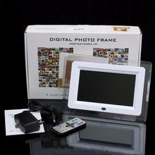 New Multi-functional 7 inch LED desktop Digital Photo Frame Remote Control Movies MP3 MP4 Player Music Alarm Clock Frame