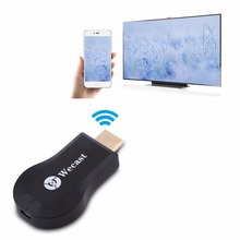 Measy Wecast C2 HDMI 1080P DLNA Airplay Dongle TV Stick Screen Mirroring Video Display Adapter For IOS Window Mac OS IOS Android