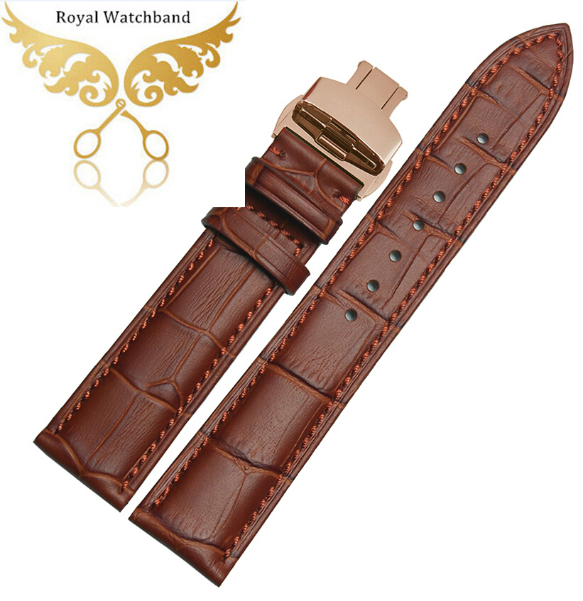 16mm 18mm 19mm 20mm 22mm Ligth Brown Genuine Leather Watch Band Mens or Womens Ladies Strap Bracelets<br><br>Aliexpress