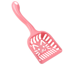 Litter Poop Scoops Cute Cat Dog Pet Sieve Plastic PP Animals Kitten Wastes Sand Waste Cleaning Scoop Tool Pet Supplies