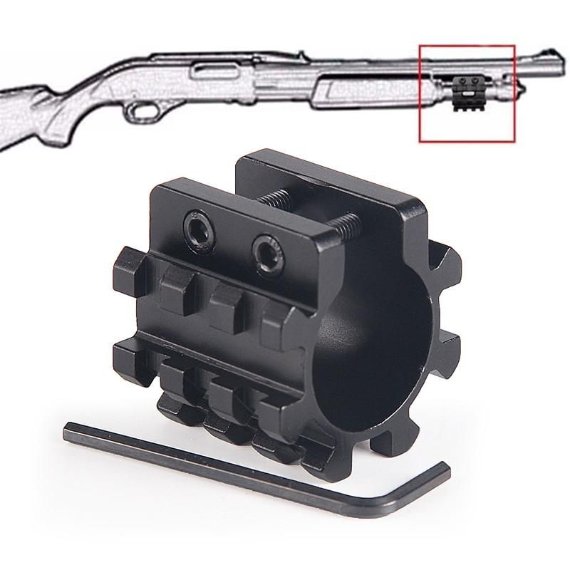 "Mossberg 500 Remington 870 Shotgun 12GA 1"" Tube Picatinny Rail Mount /& QD Sling"