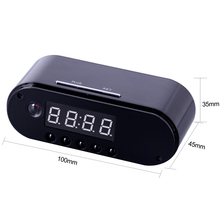 EDAL Z10 Mini Camera Clock Alarm P2P IR Night Vision Wifi Cam IP 1080 Mini DV DVR Camcorder Wifi Remote Control(China)
