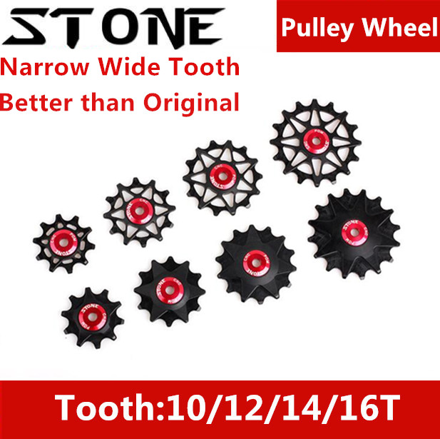 Stone Pulley Wheel Gear Guide Roller Jockey 12t 14t 16t Bearing Road MTB Bike Rear Derailleur for Sram GX XX1 for Shimano M9000