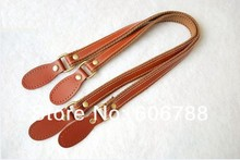Free shipping high quality genuine leather bag handle,DIY real leather bag handles accessories strap
