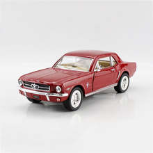 Classic 1/36 1964 Mustang Classic Vintage Cars alloy model car Diecast Metal Pull Back Car Toy For Gift Collection